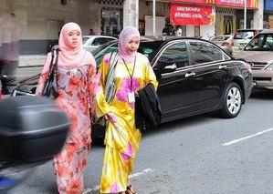 马来西亚女人的头巾